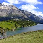 Bosporus and Upper Waterton Lake by George Cousins