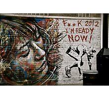 street art 9 Photographic Print