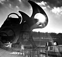 The Falkirk Wheel by Aj Finan