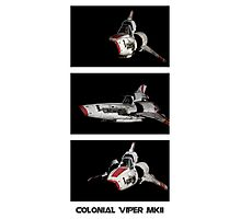 Colonial Viper MkII Photographic Print