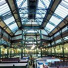 Leeds Indoor Market. by Lilian Marshall