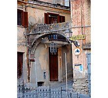 Entering Old Amantea Photographic Print
