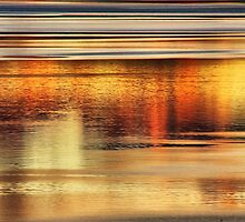 Tahoe Abstract by Barbara  Brown