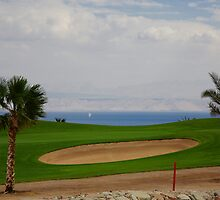 View of Hole 7 Par 4 by TabaGolf