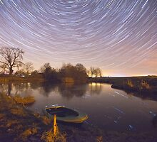 Boat Pond Startrails by Nick Atkin