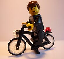 I Like To Ride My Bicycle by minifignick