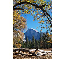 Framed view of Half Dome in Yosemite Photographic Print