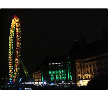 Amazing London - LONDON EYE 31st December 2010 # 2 - (UK) Photographic Print