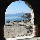 Window With A View - Rhodes Greece by alan whıteman