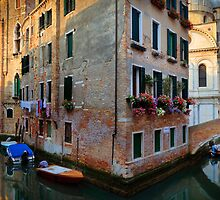 Venice Corner by Inge Johnsson