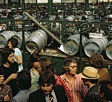 CG11 Covent Garden Beer Festival, London, 1975. by David A. L. Davies