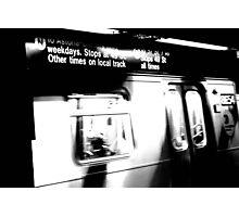 N Train Photographic Print