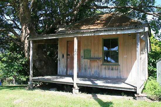 Old Tallebudgera Post Office 1878-1958 by aussiebushstick