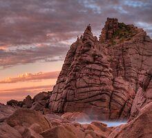 Pinnacles - HDR by Scott Sheehan