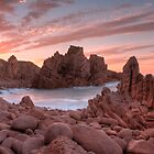The Pinacles At Sunrise by Scott Sheehan