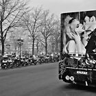 The Kiss on the Ile de la Cité by Cedric Canard