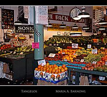 Tangelos - - Posters & More by Maria A. Barnowl