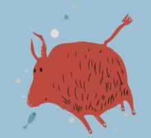 Water Buffalo Love Kids Clothes