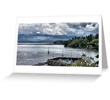 Everett Storm Greeting Card