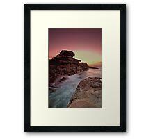 Rock Temple Framed Print