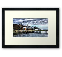Langley Marina One Framed Print