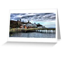 Langley Marina One Greeting Card