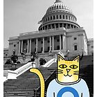 Claude Visits the U.S. Capitol by Daogreer Earth Works