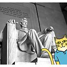 Claude Visits the Lincoln Memorial by Daogreer Earth Works