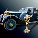 1928 Phantom 1 Rolls by Steven  Agius