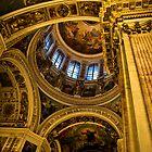 St Isaacs , Pillar by Daniel Berends