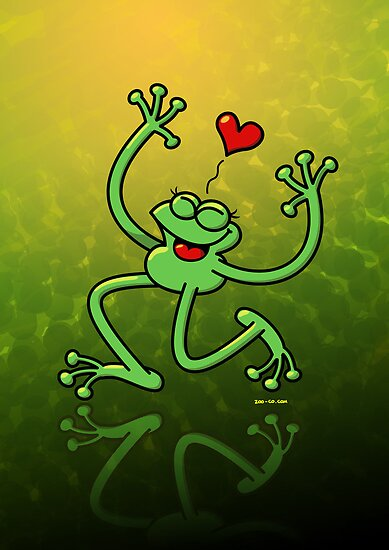 Frog in Love by Zoo-co