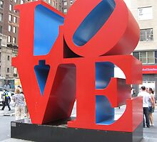 Love Sculpture, New York by Rachel Craze