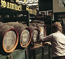 CG1 Covent Garden Beer Festival, London, 1975. by David A. L. Davies