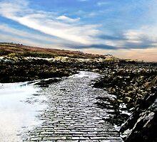 The Secret Causeway - Lihou Island Guernsey by photosintheshed