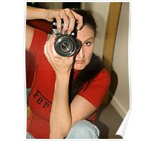 Shooting Vicki Ferrari July 2010 © Poster