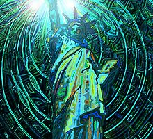 lady liberty - digital - 2010 by karmym