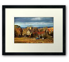 The Village of Goathland Framed Print