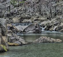 The Gorge river launceston by Thow's Photography .