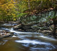 Autumn in Ricketts Glen 2.0 by Murph2010