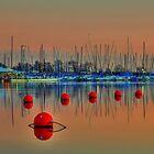Boats and Bouys by Scott Lebredo