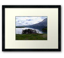 MIddle Waterton Lake Framed Print