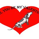 Will you be my Valentine? by Mary Taylor
