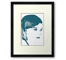 An Abstract View On Childhood Framed Print
