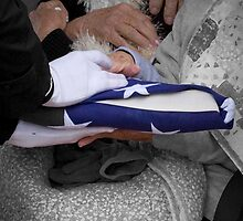 Hands Of Grief - A Patriot Goodbye by Sherry Graddy