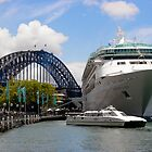 Rhapsody of the Seas, Sydney by David Mapletoft