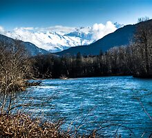 Skagit River, WA by Michi Fana
