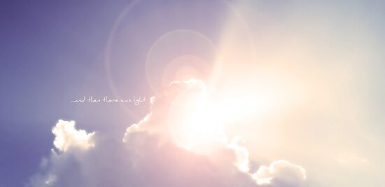 ...and then there was light by Angel Warda