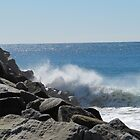 'FOAM & FROTH!' at Evan's Head, N.S.W. coast. by Rita Blom