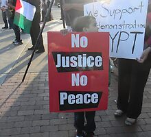 """No Justice No Peace"" by Leyla Hur"