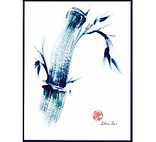 MEDITATE - Zen wash painting Photographic Print